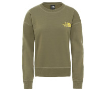 Parks Slightly Cropped Crew - Sweatshirt