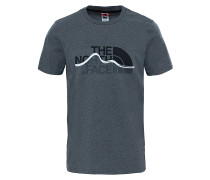 Mountain Line - T-Shirt für Herren - Grau