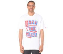 Checked Blast - T-Shirt für Herren - Weiß