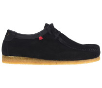 Genesis Low Cow Suede - Fashion Schuhe für Herren - Schwarz
