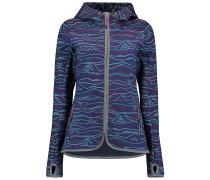 Active Print Softshell - Funktionsjacke für Damen - Blau