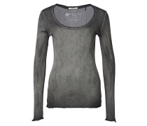 New Vintage Crew - Langarmshirt für Damen - Schwarz