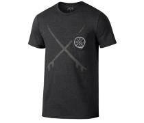 50/50 Boardcross - T-Shirt für Herren - Schwarz