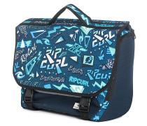 Neon Vibes Cartable - Rucksack für Herren - Blau