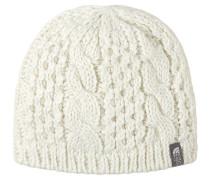 Cable Minna - Mütze für Damen - Weiß