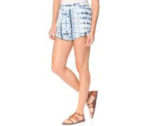 Island Escape - Shorts für Damen - Blau