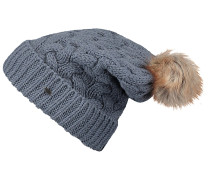 Nora Wool Alpaca Mix - Mütze für Damen - Blau