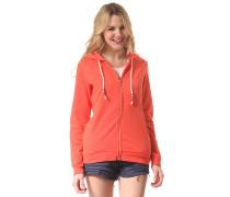 Olivia - Kapuzenjacke für Damen - Orange