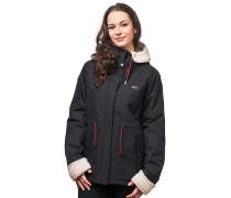 Monika - Mantel für Damen - Schwarz