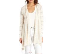 Wild Heart - Strickjacke für Damen - Weiß
