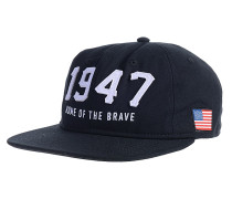 Home On The Brave - Snapback Cap für Herren - Schwarz