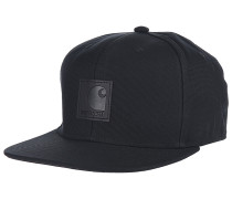 LogoSnapback Cap Schwarz