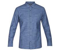One & Only L/S - Hemd - Blau