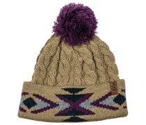 Cable Navajo - Mütze für Damen - Mehrfarbig