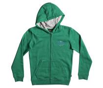 Jumja Zip - Kapuzenjacke für Jungs - Grün