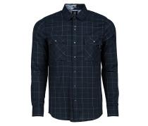 Grid L/S - Hemd für Herren - Blau