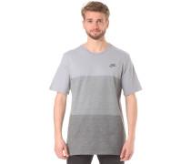 Tonal Colorblock - T-Shirt für Herren - Grau