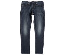 Washed Slim - Jeans für Herren - Blau