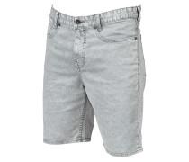 Outsider Washed - Shorts für Herren - Silber