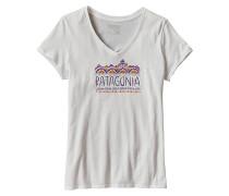 Femme Fitz Roy V-Neck - T-Shirt für Damen - Weiß