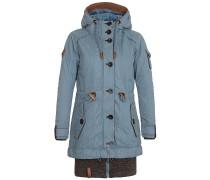 Langes Fädchen, Faules Mädchen - Jacke für Damen - Blau