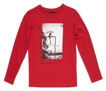 Step By Step - Langarmshirt für Jungs - Rot