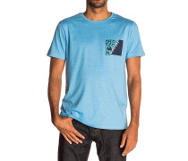 Break Brush - T-Shirt für Herren - Blau