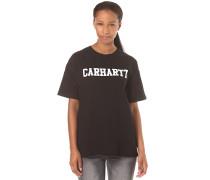 College - T-Shirt für Damen - Schwarz