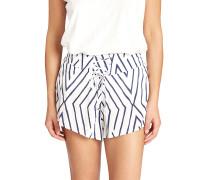 Sunny Eyes - Shorts für Damen - Weiß