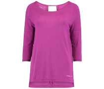Relaxed Zen - Langarmshirt für Damen - Lila