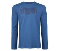 Clean & Mean - Langarmshirt für Herren - Blau
