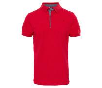 Premium Piquet - Polohemd für Herren - Rot