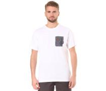 Transmit - T-Shirt für Herren - Weiß