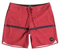 Stripescallop 18 - Boardshorts für Herren - Rot