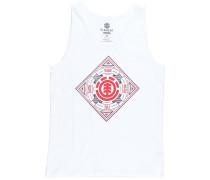 Emblem - Top für Herren - Weiß