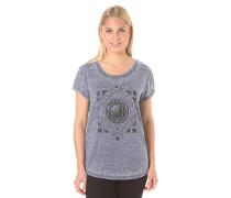 Diamond Floral - T-Shirt für Damen - Blau