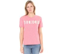 Block Stripe Logo - T-Shirt für Damen - Pink