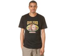 Good Vibes Bear - T-Shirt für Herren - Schwarz
