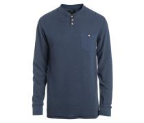 Pocket - Langarmshirt für Herren - Blau