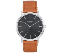 Porter 35 Lthr - Uhr - Schwarz