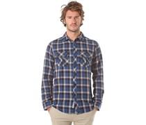Hard Luck L/S Flannel - Hemd für Herren - Blau