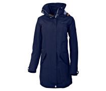 Cindy - Mantel für Damen - Blau