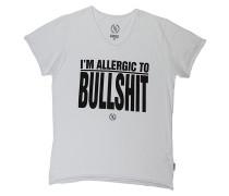 I'm Allergic - T-Shirt für Herren - Weiß