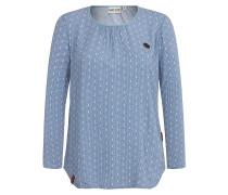 Oma Auf Dem Opa II - Bluse für Damen - Blau