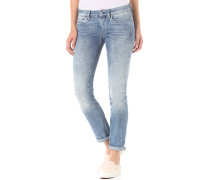 Midge Mid Straight Aiden Stretch - Jeans für Damen - Blau