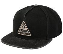 X Wash Snapback Cap - Schwarz