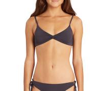 Sol Searcher Twisted - Bikini Oberteil für Damen - Schwarz