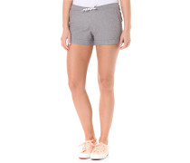 Chambray - Shorts für Damen - Grau