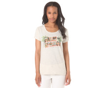 Palm Springs Postcar - T-Shirt für Damen - Beige