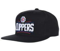 Wool Solid LA ClippersSnapback Cap Schwarz